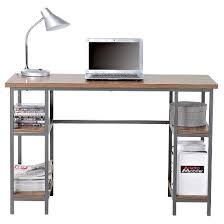 Desk For Desktop Computer by Laptop Desk With 4 Shelves Homestar Target