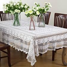 handmade crochet lace table linens free shipping on orders