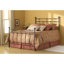 wrought iron queen headboard first hammered brown by fashion bed group humble abode along with