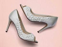 wedding shoes exeter rainbow club amelia ivory blossom peep toe wedding shoes