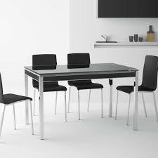 cache pied cuisine table de cuisine avec rallonge en verre bambola 4 pieds 13 tables