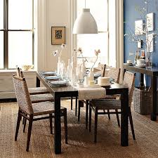 west elm expandable table parsons dining table rectangle west elm parsons expandable dining