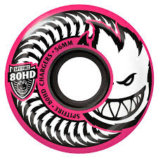 formula 4 spitfire spitfire chargers 54mm 80hd pink wheels calstreets