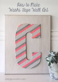 Washi Tape Wall by Adorable Ways To Decorate With Washi Tape Recycled Things