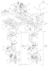 mtd 13af608g062 2002 parts diagram for pto manual battery frame