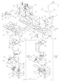 mtd 13aj608h131 2002 parts diagram for pto manual battery frame