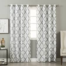 Insulated Curtains Amazon Amazon Com Best Home Fashion Reverse Moroccan Faux Silk Blackout