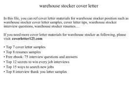 Stocker Job Description For Resume by Sample Cashier Cover Letter For Job Stocker Job Description