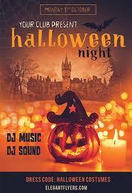 Free Halloween Flyer Templates By Elegantflyer