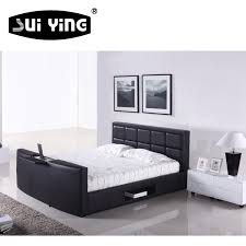 china genuine leather tv bed china genuine leather tv bed