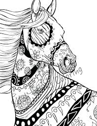 100 easy horse coloring pages coloring pages for adults to