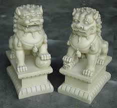 foo lions for sale 2 large asian foo dogs fu dog resin garden statues indoor