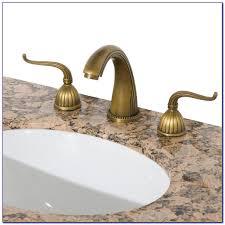 Antique Brass Bathroom Faucet by Antique Brass Bathroom Faucet Moen Faucets Home Design Ideas