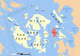 Map Of Washington State Coast by Cypress Island Wikipedia