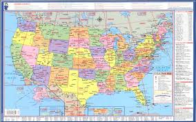 map usa us map of world major tourist attractions maps