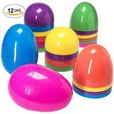 large plastic easter eggs jumbo easter eggs ebay