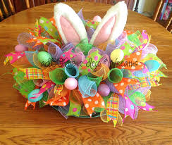 Easter Table Decorations For Sale by Easter Table Centerpiece By Adoorabledecowreaths On Etsy Spring
