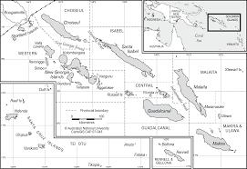 Solomon Islands Map Solomon Islands With Location Map Cartogis Services Maps Online
