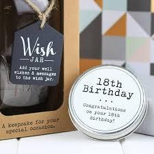 Wedding Wishes Jar 18th Birthday Wish Jar By Nest Notonthehighstreet Com