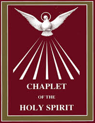 chaplet of the holy apostles of the holy spirit
