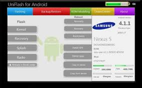 flash android uniflash manage android devices flash mod roms from your pc