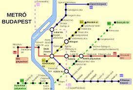 Metro Map Of Paris by Budapest Metro Map Hungary