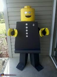 Lego Halloween Costume Lego Man Homemade Halloween Costume