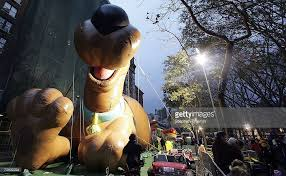 balloons inflated ahead of annual thanksgiving parade photos and