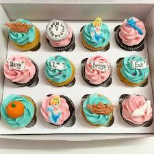 cinderella cupcakes themed cupcakes
