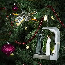 hallmark keepsake wars darth and leia ornament