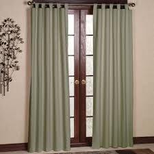 living room tab top curtains with white wall design and small