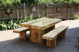 Cream Garden Bench Simple Garden Furniture U2013 Rustic Cedar Wood Outdoor Dining Table