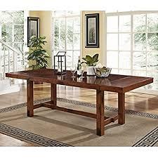 8 Foot Sofa Table Amazon Com New 8 Foot Dark Oak Wood Dining Table New In The Box