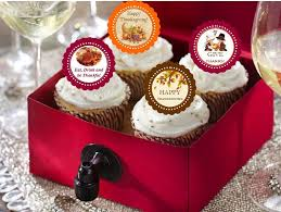 thanksgiving cupcake toppers decorations pavia favors