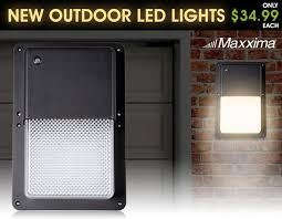 Led Outdoor Wall Pack Lighting 230 Best Maxxima Home Led Lighting Images On Pinterest Ls