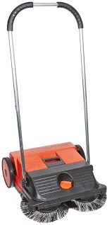 haaga 255 manual double brush sweeper 21