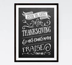 enter his gates with thanksgiving psalm 100 4 bible verse print