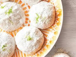 wedding cookies lemon lime mexican wedding cookies recipe myrecipes