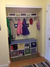 46 best closet to mudroom images on pinterest front closet