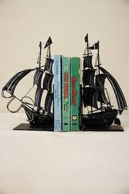 unique bookends for sale vintage metal sailboat bookends 48 00 via etsy a