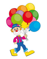 clown baloons clown with balloons stock vector illustration of balloons 19002177