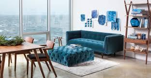teal velvet chesterfield sofa monty velvet fabric chesterfield sofa with teal design 2