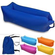 Inflatable Sofa Wholesale Beach Air Inflatable Sofa Banana Sleeping Air Bag