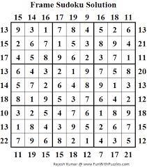 irregular sudoku mini sudoku series 19