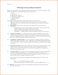 formal lab report template 10 formal lab report template financial statement form