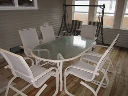 Best Glass Top Patio Table Images On Pinterest Patio Table - Glass top dining table ottawa
