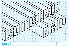 isometric grid isometric drawing 4001 creative thinking and