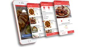 appli cuisine android food delivery iphone and android mobile application