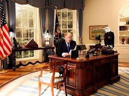 Oval Office Trump by President Trump U0027s First Month In Office The Sentry