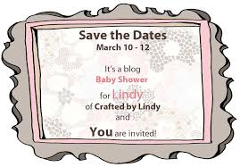 Baby Shower Save The Date Save The Date A Blog Baby Shower Candied Fabrics